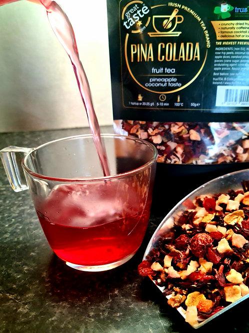 pina colada fruit tea pineapple coconut taste great taste food awards winner trusTEA