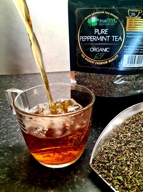 pure peppermint tea organic herbal tea trusTEA