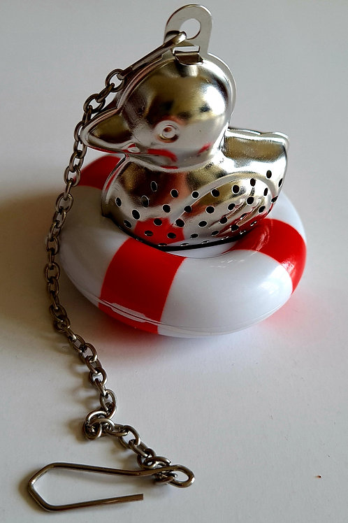 TEA INFUSER DUCK WITH LIFE BUOY