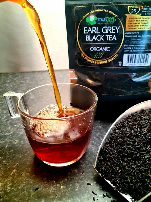 earl grey black tea organic tea trusTEA