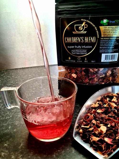 childrens tea blend fruit tea kids tea trusTEA
