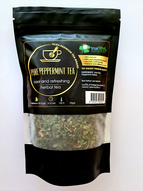 PURE PEPPERMINT TEA - 100% peppermint leaves