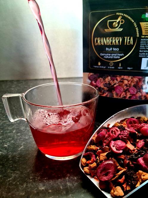cranberry tea fruit tea trusTEA