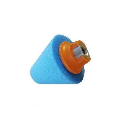 קונוס ליטוש (הברגה) כחול