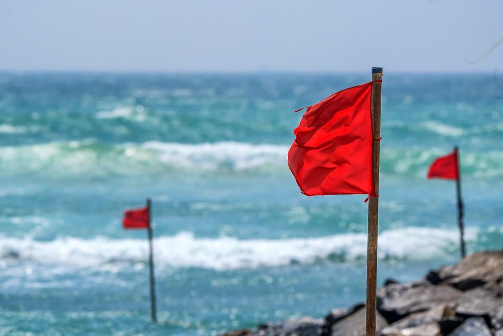דגלים אדומים בפיזיותרפיה