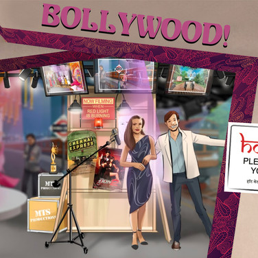 Lights, Camera, Bollywood!