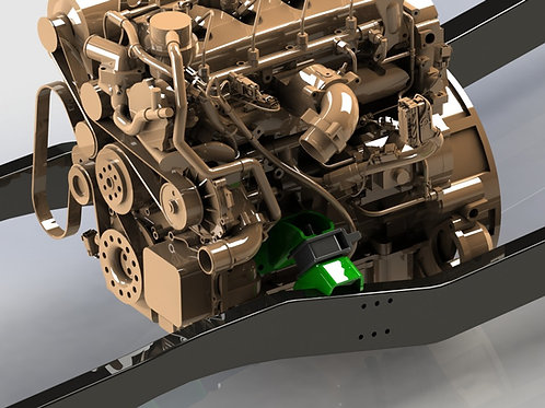 Cummins R2.8 Repower Jeep CJ Conversion Engine Mounts