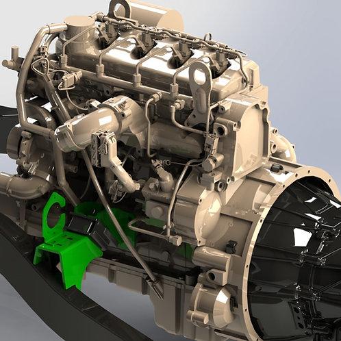 Cummins R2.8 Repower Jeep TJ Conversion Mounts