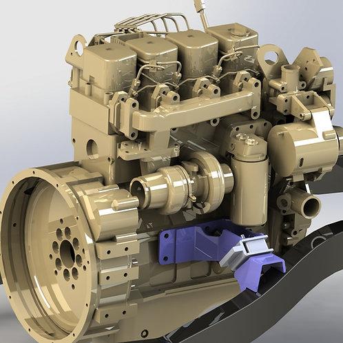 Cummins 4BT Jeep TJ Conversion Engine Mounts