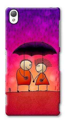 Enamorados Bajo la Lluvia