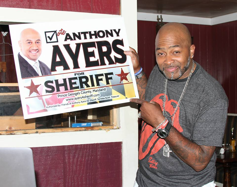 DJ Rico Supports Ayers for Sheriff