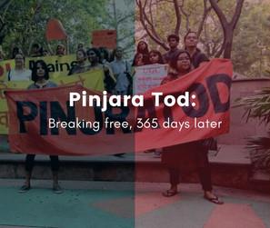 Pinjara Tod   Breaking free, 365 days later.