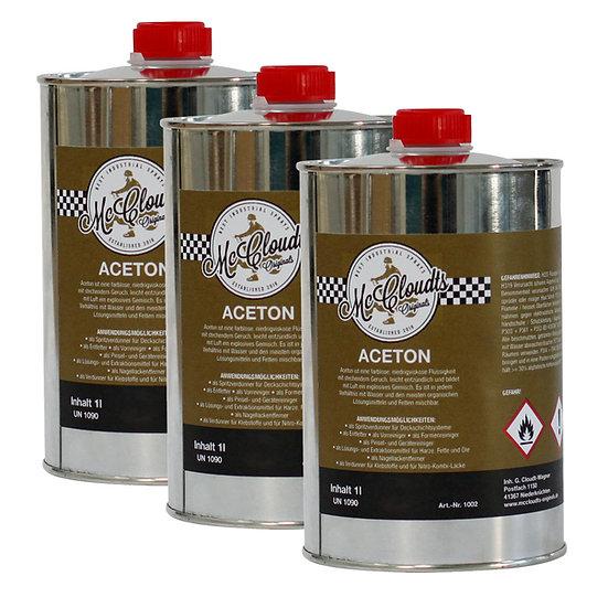 Aceton 3 Liter Kanister