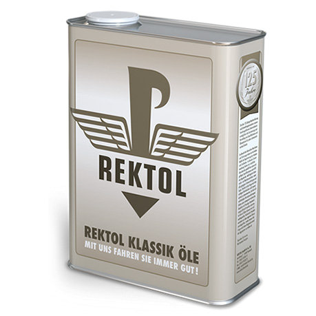 REKTOL REGULAR 30 | SAE 30 | API SA   2 Liter Klassik Blechkanister