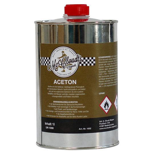 Aceton 1 Liter Flasche