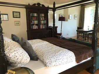Blick in das Gästezimmer