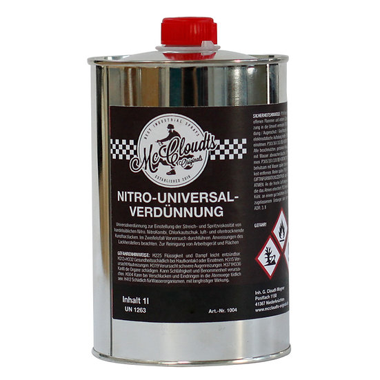 Nitro- Universalverdünnung 1 Liter