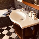 Badezimmer im Gästezimmer
