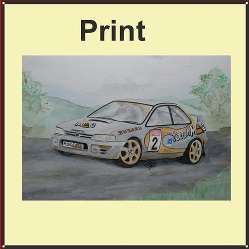 Subaru Impreza (Ref CVW-148-A)