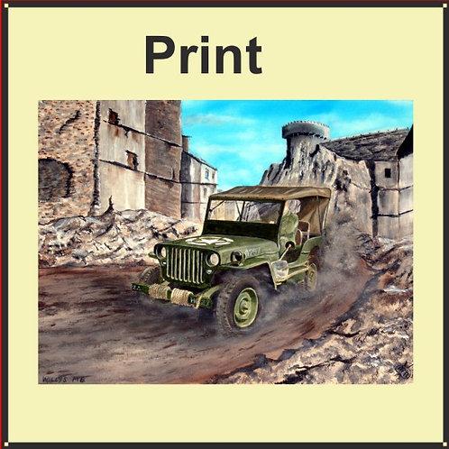 Willys MB Jeep (Ref CVA-200-A)
