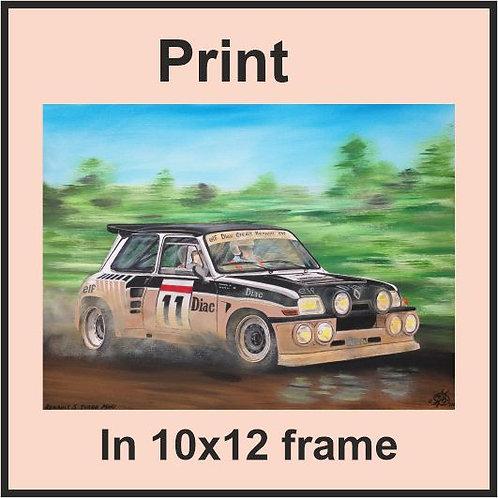 Renault 5 Maxi Turbo  (Ref CVA-244-C)
