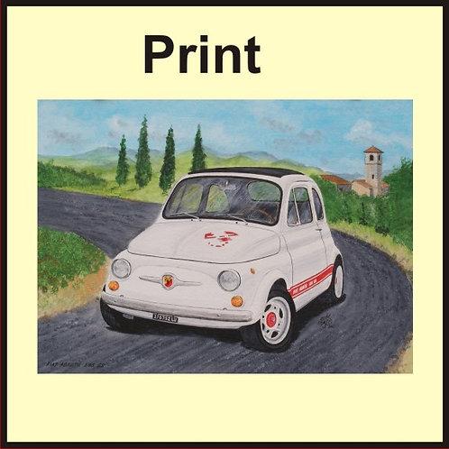 Fiat Abarth 595 SS (Ref CVA-125-A)
