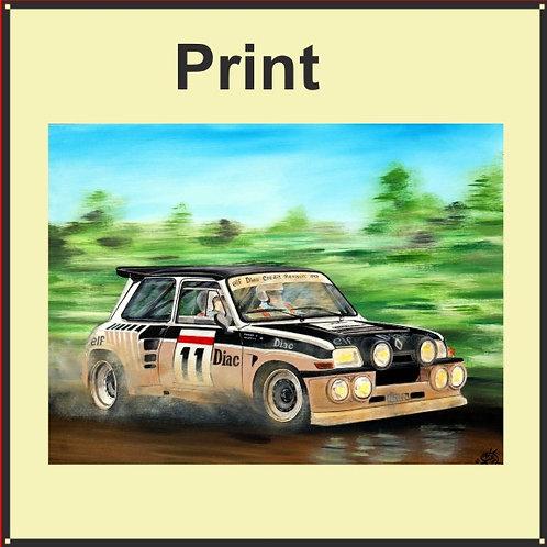 Renault 5 Maxi Turbo (Ref CVA-244-A)