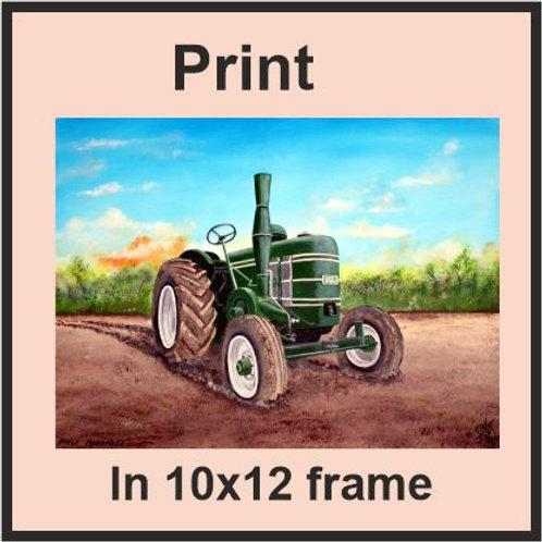 Field Marshall tractor  (Ref CVA-197-C)
