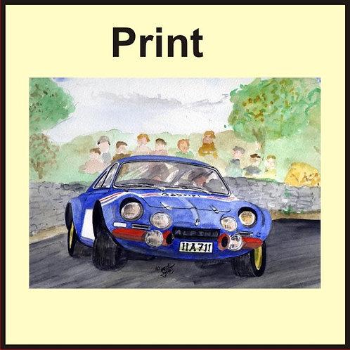 Alpine Renault A110 (Ref CVW-139-A)