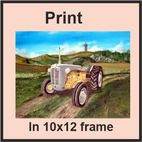 Ferguson 35 tractor  (Ref CVA-198-C)