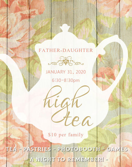 daddy-daughter high tea - Made with Post