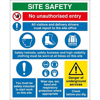 Genius-Arabia-site-safety-services-signs