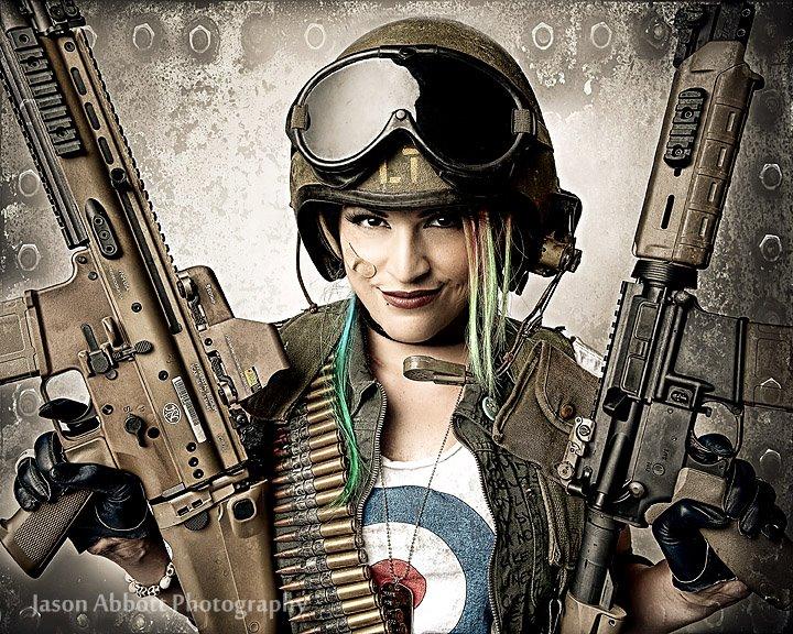 Tank Girl parody