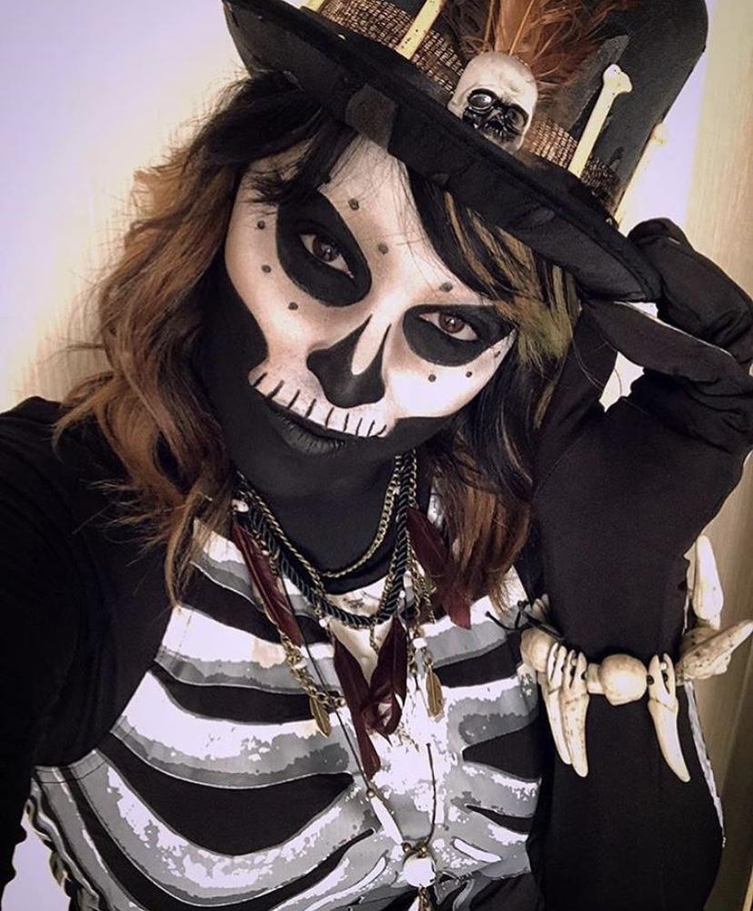 Voodoo Skeleton Makeup
