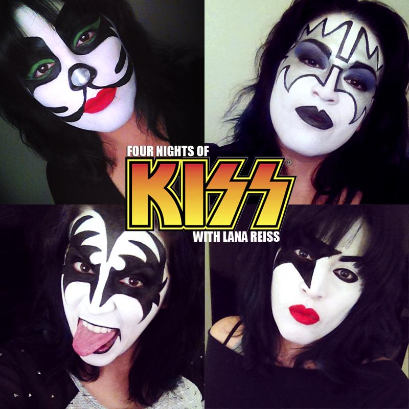 Kiss makeup
