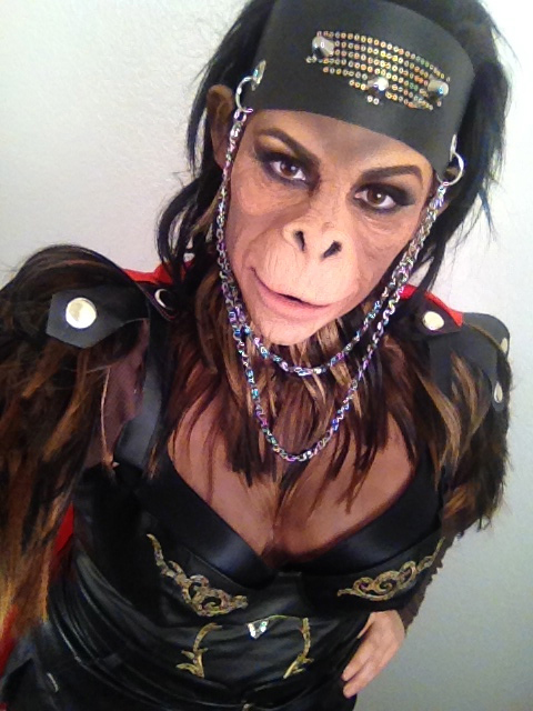 Planet of the Apes makeup