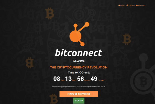 Bitconnect started new project