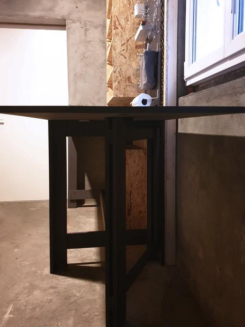 Table sur-mesure pour atelier