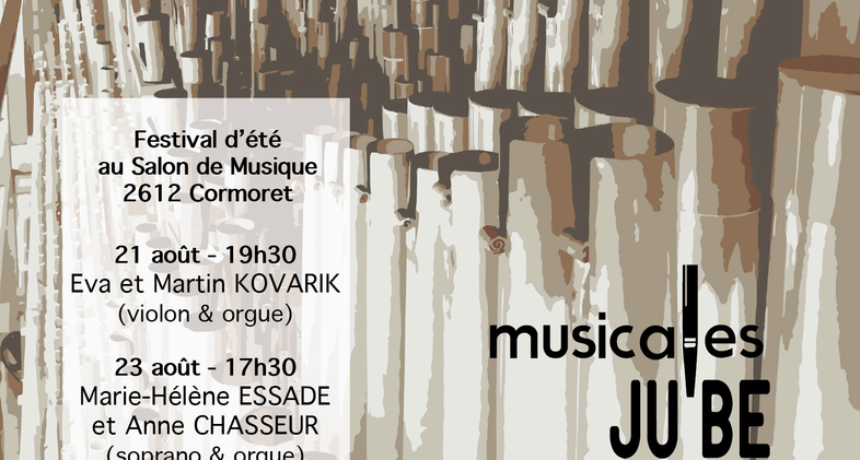 Musicales JUBE: Flyer V03 recto
