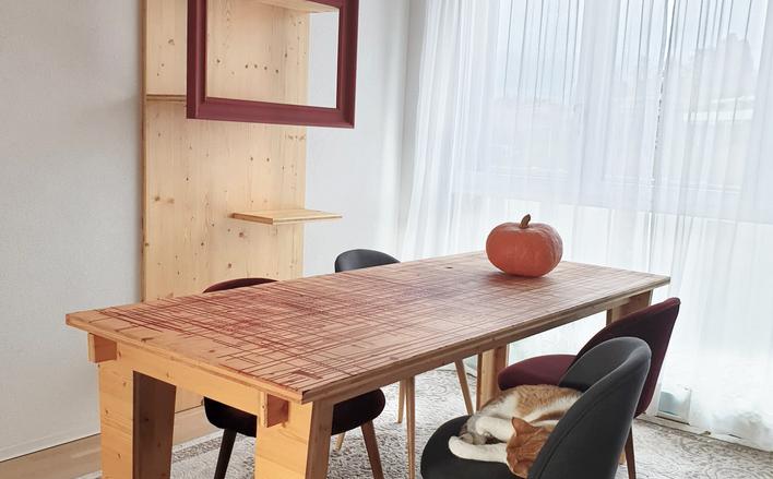 La table de rencontre entre hasard, écologie & design