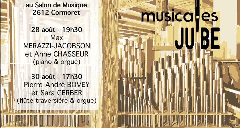 Musicales JUBE: Flyer V01 recto