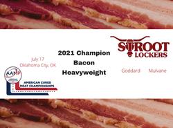 award winning bacon