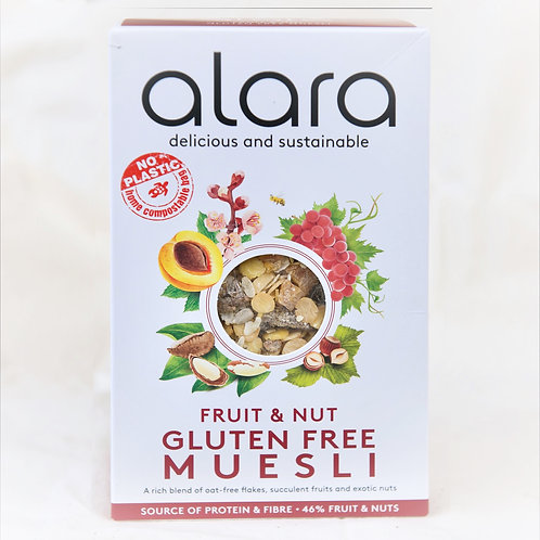 Alara Fruit/Nut Muesli - Gluten Free 475g