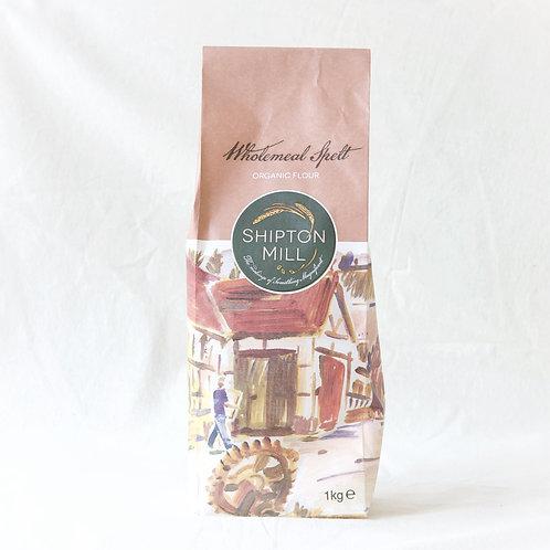 Wholemeal Spelt Flour Shipton Mill Organic 1kg
