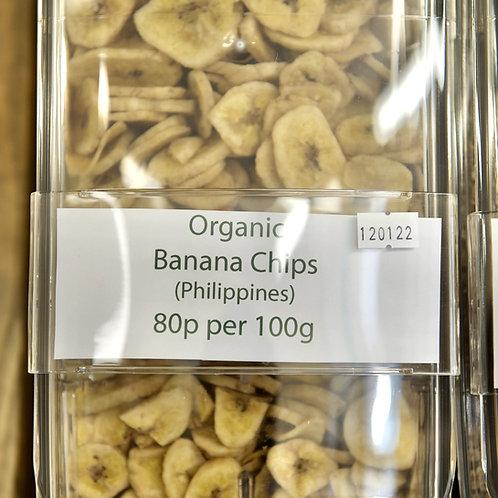 Banana Chips loose- per 100g