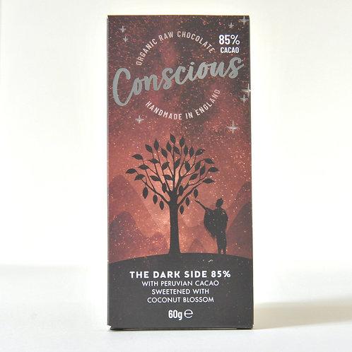 Conscious Chocolate Dark Side 85%   60g