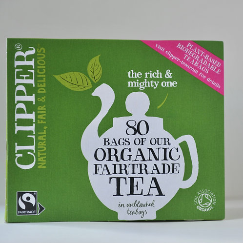 Clipper Organic Fairtrade Tea 80 bags
