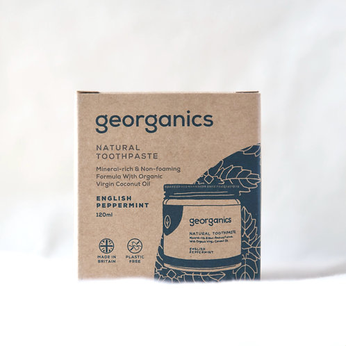 Georganics Natural Toothpaste English Peppermint 120ml
