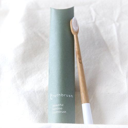 Truthbrush beautiful bamboo toothbrush
