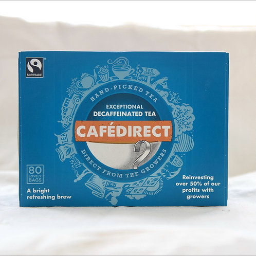 Cafe Direct Decafinated Tea 80